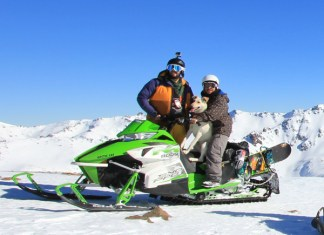 skiing at Mallin Alto