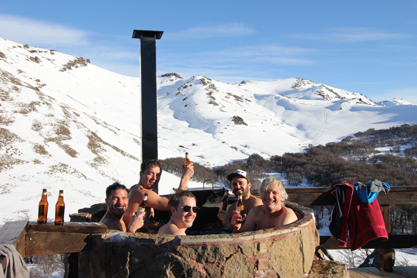 hot tub at Mallin Alto