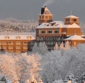 Sendai Royal Park Hotel in winter