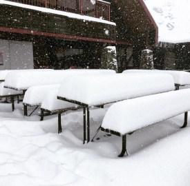 Cardrona New Zealand March snow