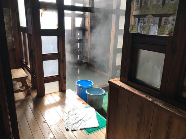 Free onsen Kusatsu