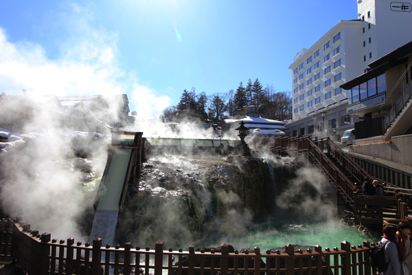 Kusatsu hot springs