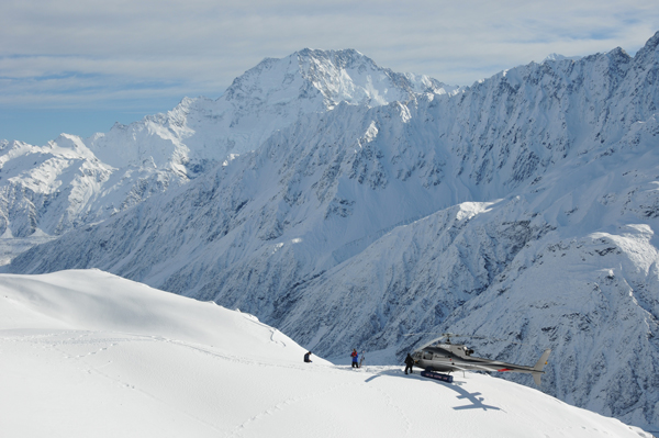 all this is yours at Mt Cook Heliski