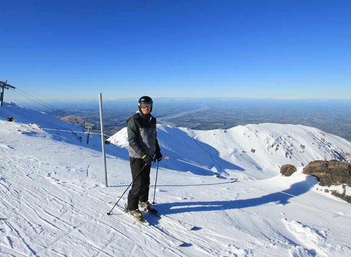 Mt Hutt views