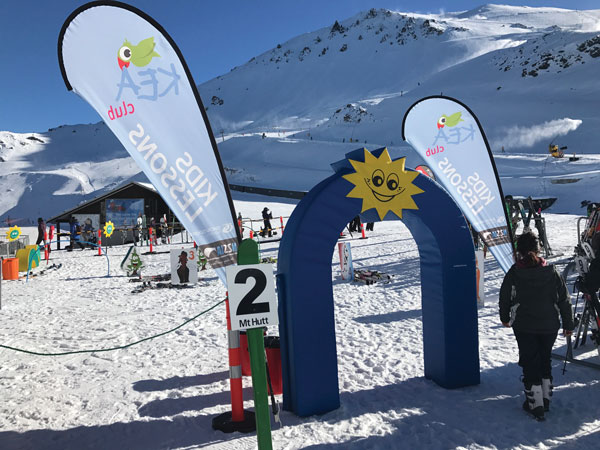 Mt Hutt kids ski area