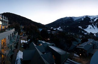 Great views from Lantern Apartments Thredbo