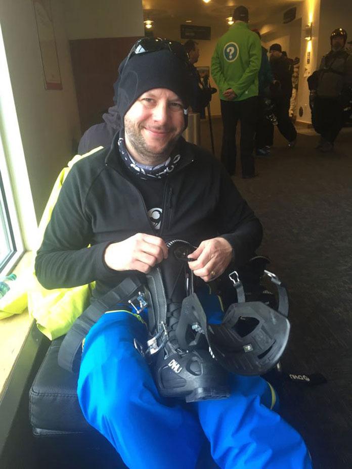 Dahu ski boots founder Nicolas Frey