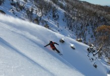 Thredbo backcountry skiing