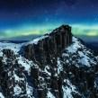 Wild Tasmania skiing sometimes shows you the Aurora Australia