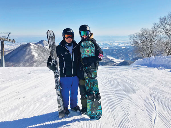 Geto Kogen life brings a few bluebird days