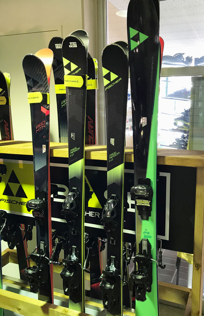 skis at Kamui Ski Links rental