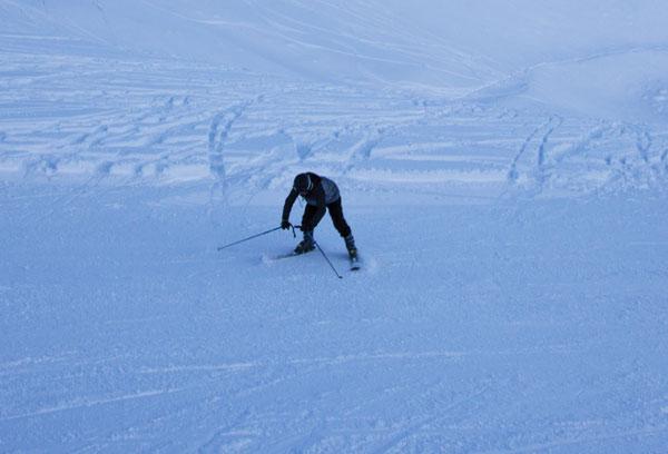 Learning to ski at Ohau
