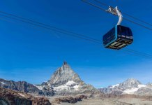 The new Matterhorn Glacier Ride at Zermatt