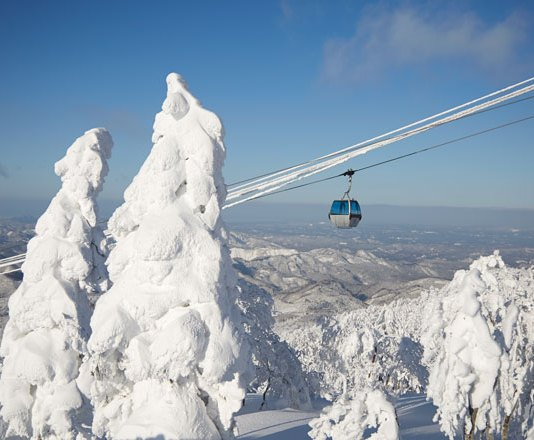 Gondola at Ani Ski Resort