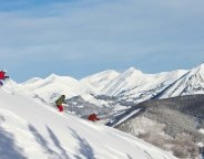 Powder skiing Crested Butte
