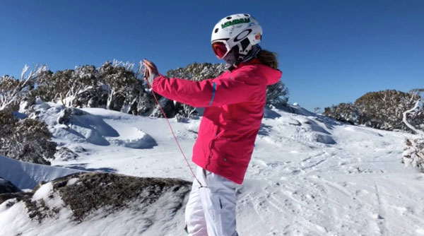 Using Action Sports Anchor at Perisher