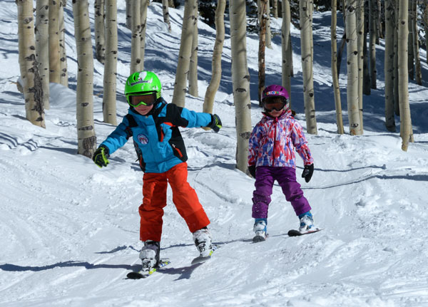Kids ski Free at Steamboat
