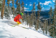 glade skiing Winter Park