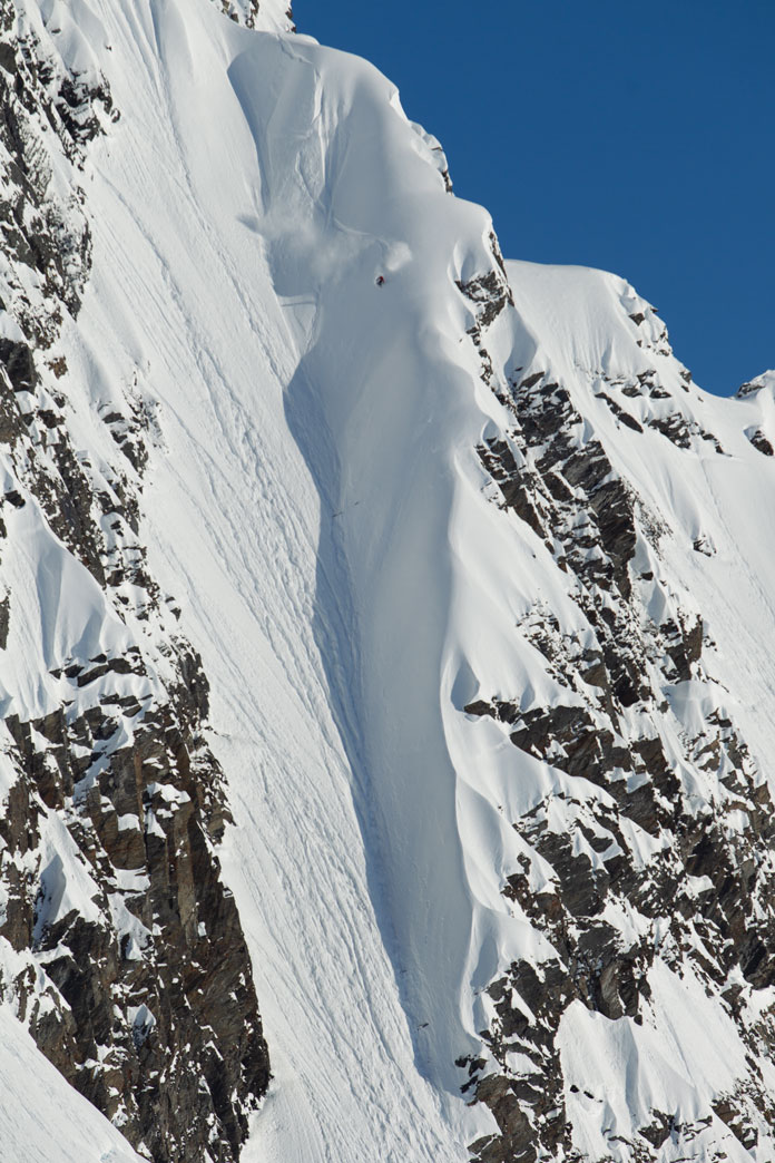 Incredible steep Alaska descents Points North Heliskii