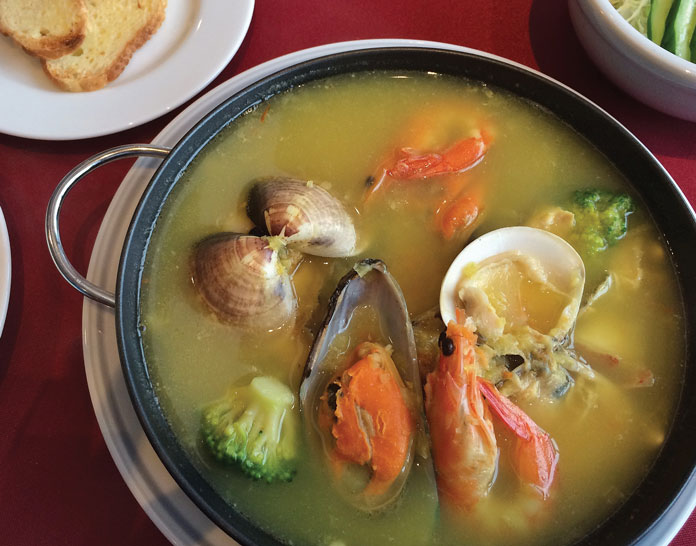 Aomori seafood at Hakkoda