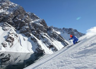 Lake Run is a ski Portillo classic