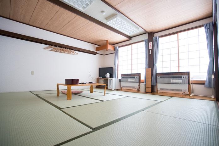 Tatami room at Chalet Marunuma