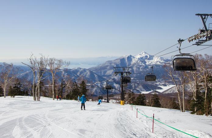 Amazing views at Grandeco in the Aizu Region