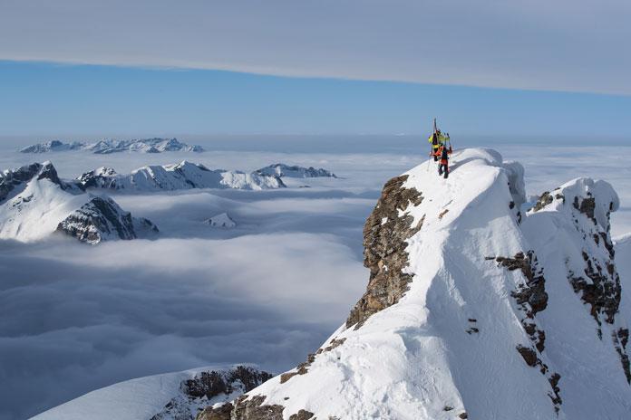 Engelberg high peaks with Warren Miller