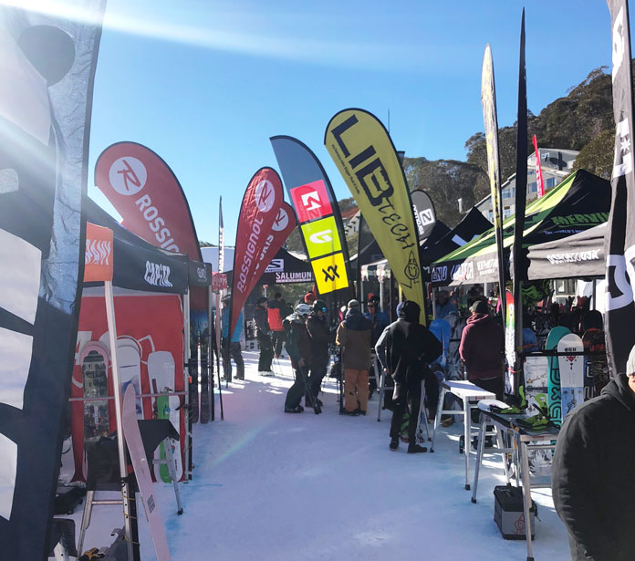 The SIA ski and board tests feature a great range of top brands