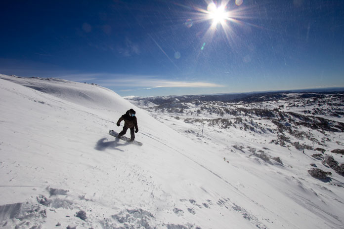 skiing perisher with epic australia pass