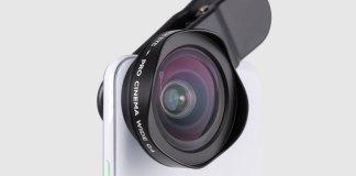 Black Eye Pro Wide G4 clip universal smartphone lens