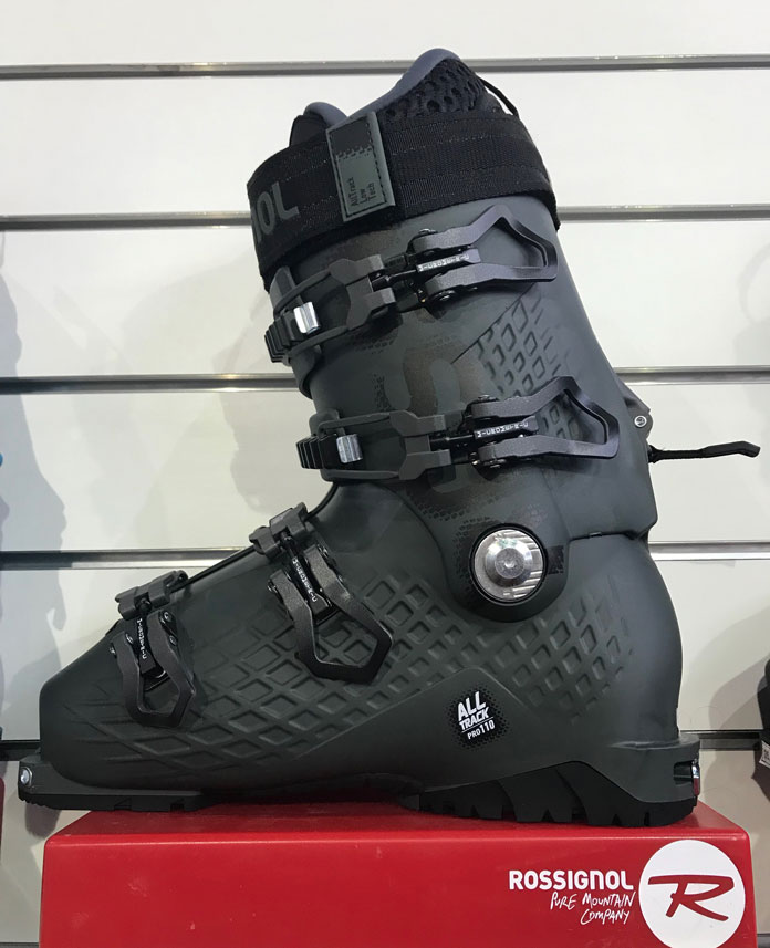 Rossignol AllTrack Pro110 boot on display