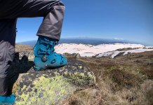 In the Aussie back country with Rossignol AllTrack Pro120 LT boots
