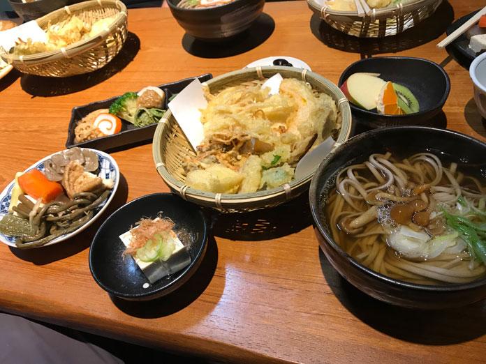 Ainokura lunch set