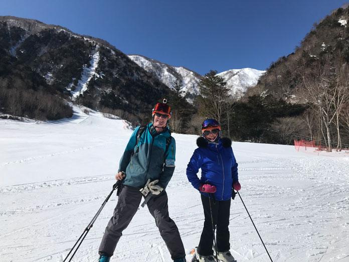 Nikko Yumoto ski area