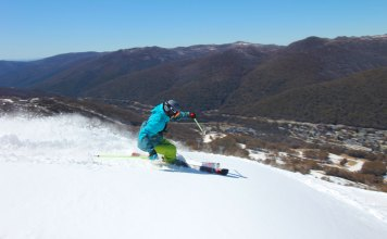 Skiin gThredbo with Ikon Pass