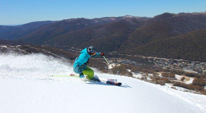 Skiin gThredbo with Ikon Pass