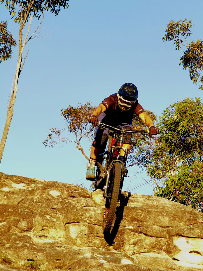 Charging on the MTB in new CARVE SCOPE goggles