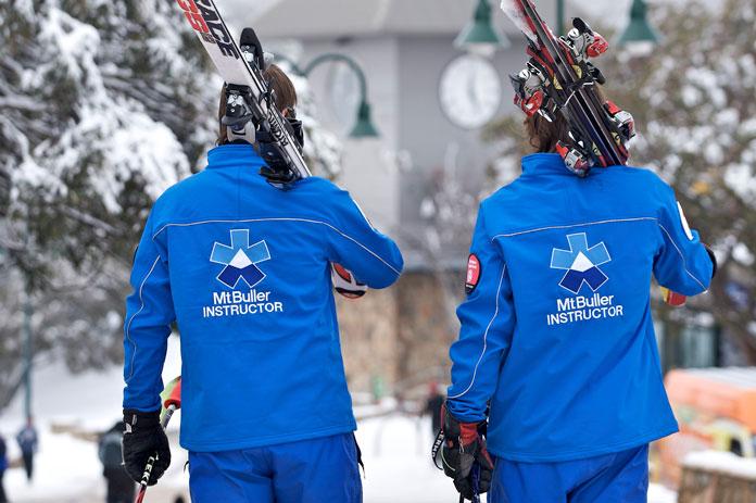Ski Instructors at Mt Buller