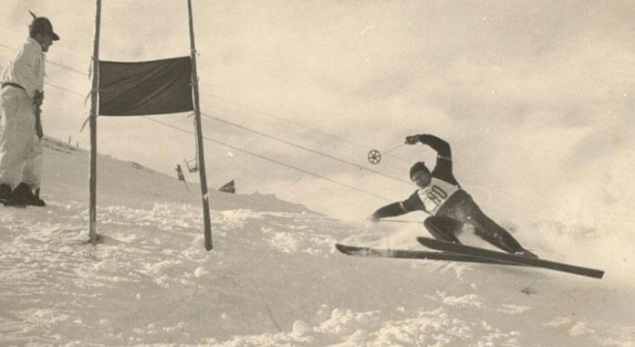 Frank Prihoda ski racing