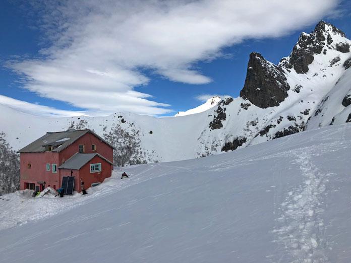 Refugio Lopez in winter