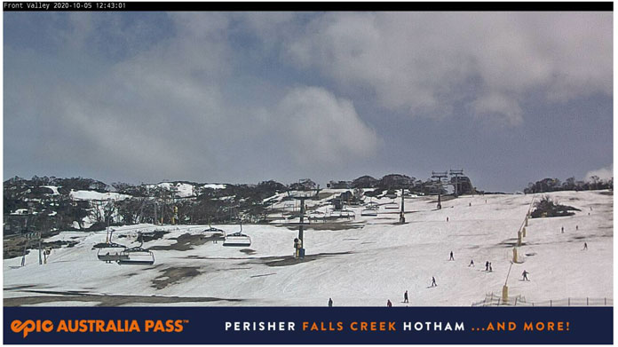 Last day of the 2020 ski season at Perisher