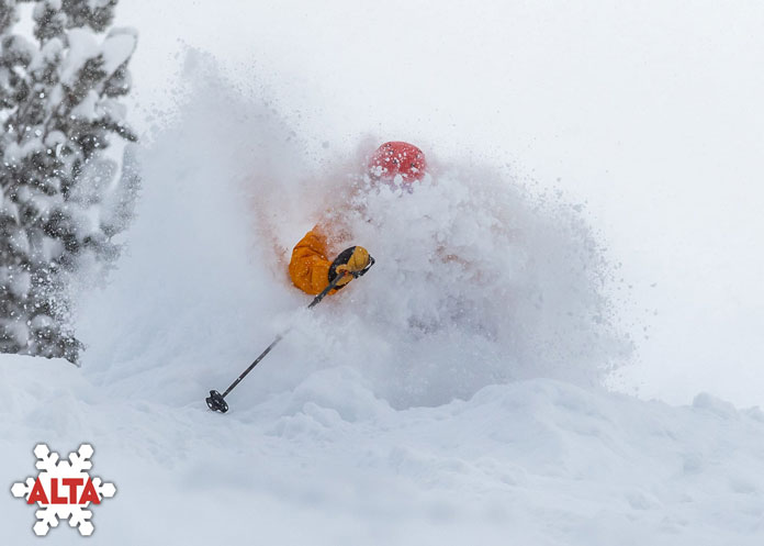 Early season powder at Alta