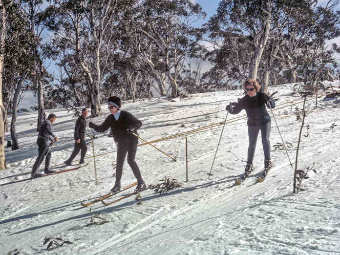 Swinging Sixties ski style at Mt Franklin, Canberra