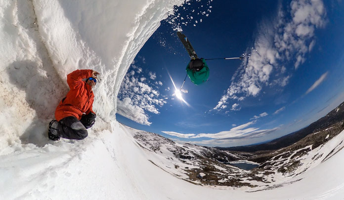 GoPro MAX Test 360 view shows how you can take out the need for a stills photographer