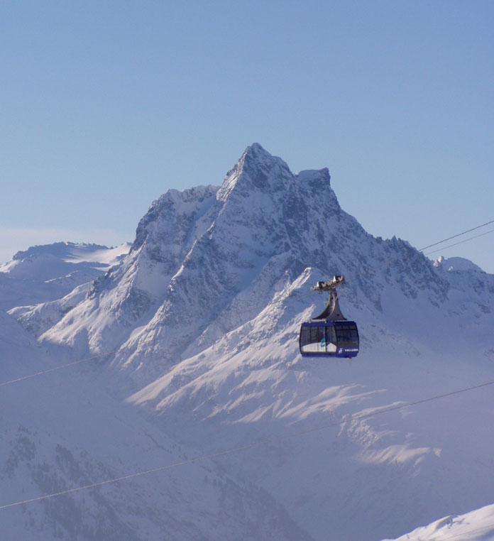 Valluga cableway St Anton am Arlberg