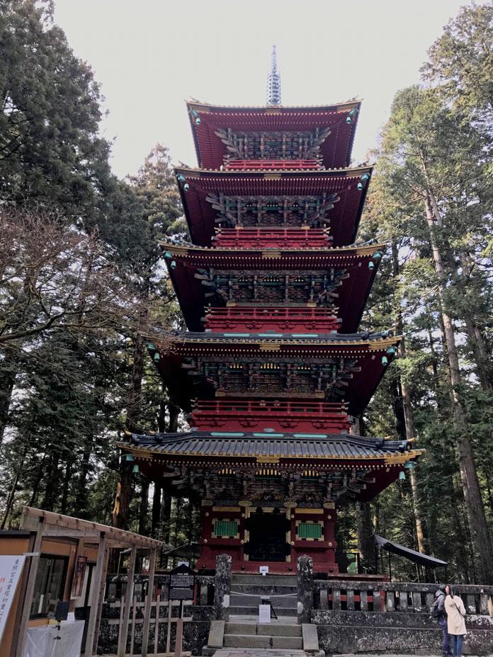 5 Storey Pagoda, Nikko Toshogu Shrine