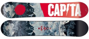 Although last, this is one of the best snowboards in the market