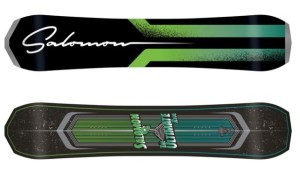 Another amazing snowboard by Salomon