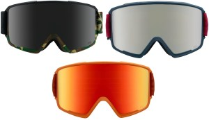 Here's our review of the Anon M3 snow goggle